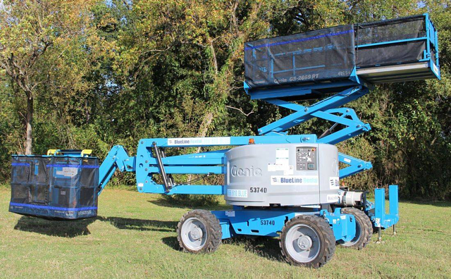 passive safeguards for powered aerial lifts